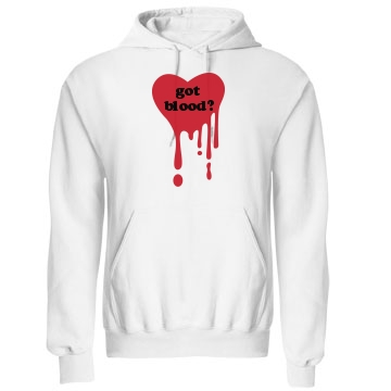 Got Blood Halloween Unisex Gildan Heavy Blend Hoodie