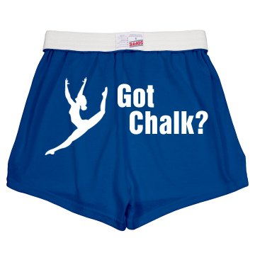 Got Chalk Short