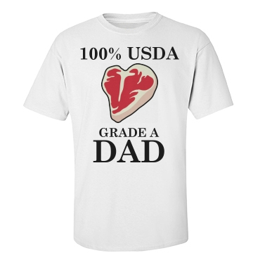 Grade A DAD Unisex Basic Port & Company Essential Tee