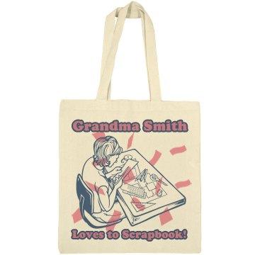 Grandma Loves Scrapbook