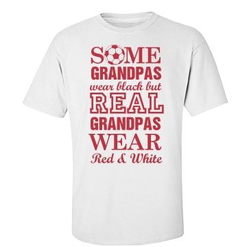 Grandpa's A Soccer Fan