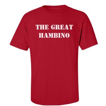 Great Hambino Unisex Port & Company Essential Tee