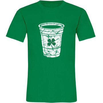 Green Beer Unisex American Apparel Fine Jer