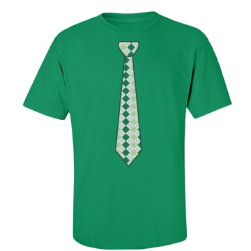 Green Neck Tie Unisex Port & Company Essentia