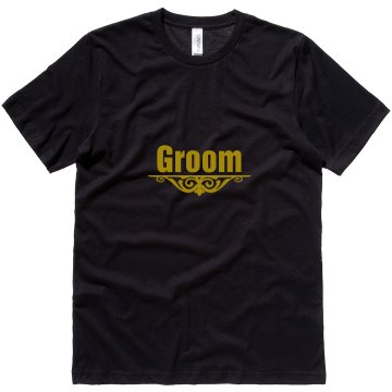 Groom Accent Unisex Can