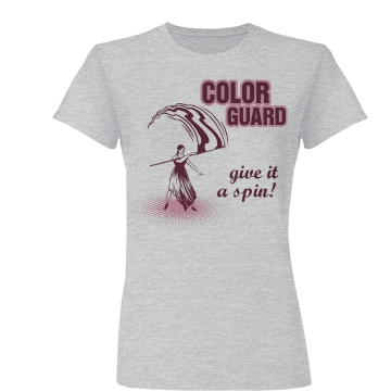 Guard Give it a Spin Junior Fit Basic Bella Favorite Tee