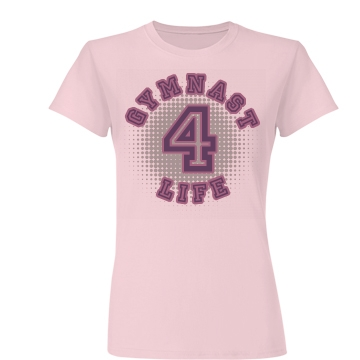 Gymnast 4 Life Junior Fit Basic Bella Favorite Tee