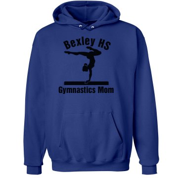 Gymnastic Mom Hood Unisex Hanes Ultimate Cotton Heavyweight Hoodie