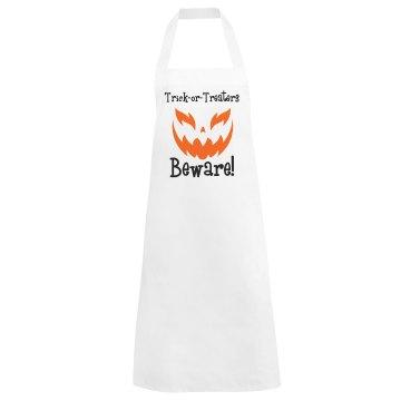 Halloween Beware Apron