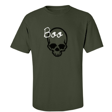 Halloween Boo Tee Unisex Gildan Heavy Cotton Crew Neck Tee