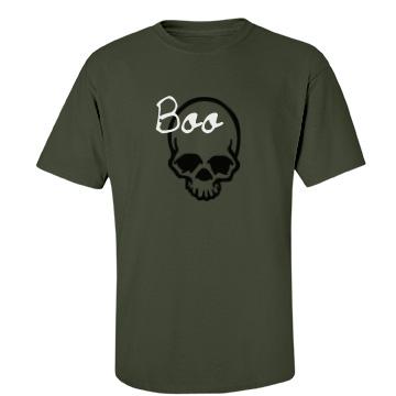 Halloween Boo Tee Unisex Port & Company Essential Tee