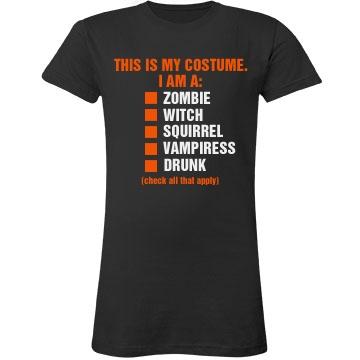 Halloween Checklist