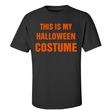Halloween Costume, Sorta Unisex Gildan Heavy Cotton Crew Neck Tee