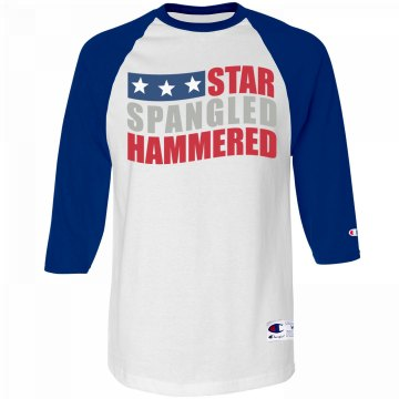 Hammered Spangled Stars