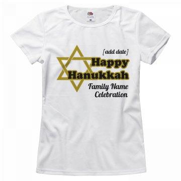 Hanukkah Celebration Tee