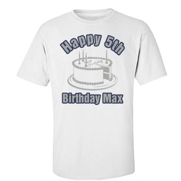 Happy 5th Max