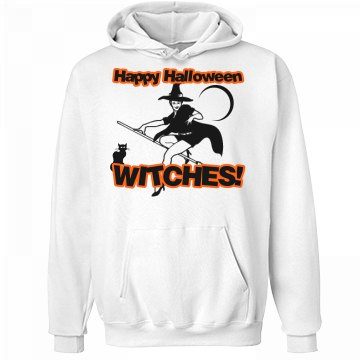 Happy Halloween Hoodie Unisex Hanes Ultimate Cotton Heavyweight Hoodie