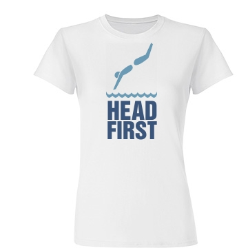 Head First Junior Fit Basic Tultex Fine Jersey Tee