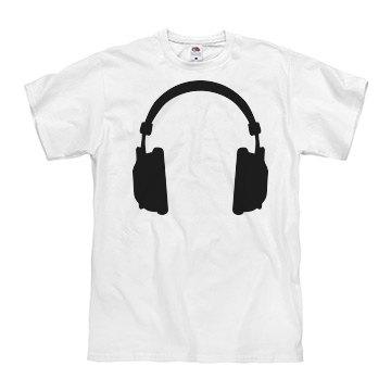 Headphones Guys Tee