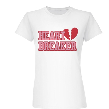 Heart Breaker Junior Fit Basic Bella Favorite Tee