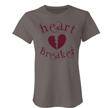 Heart Breaker Junior Fit Bella Favorite Tee