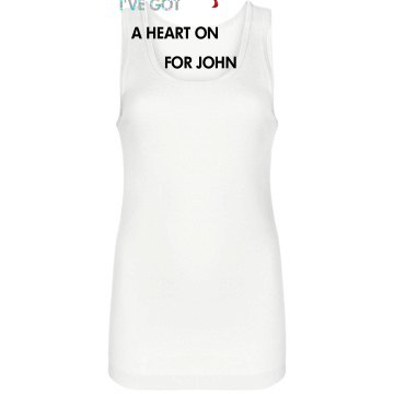 Heart On Junior Fit Bella Longer Length 1x1 Rib Tank Top