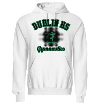 High School Gymnastics Unisex Gildan Heavy Blend Hoodie