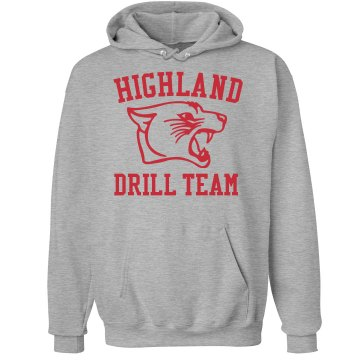 Highland Drill Team Unisex Hanes Ultimate Cotton Heavyweight Hoodie