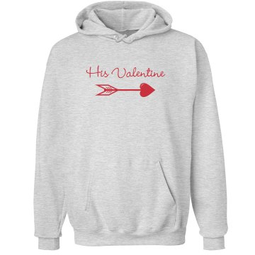His Valentine Unisex Hanes Ultimate Cotton Heavyweight Hoodie