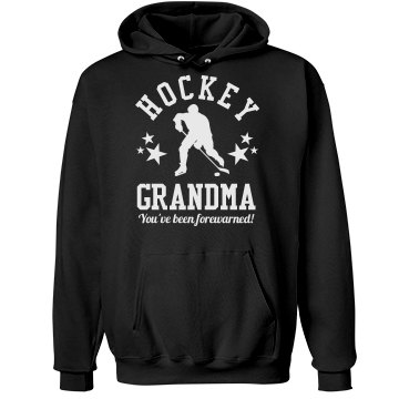 Hockey Grandma Sports Fan