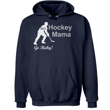 Hockey Mom Rhinestone