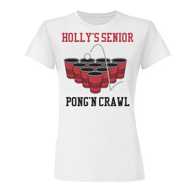 Holly's Senior  Bar Crawl