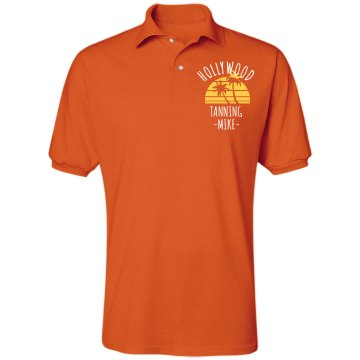 Hollywood Tanning Unisex Jerzees Spotshield Polo Shirt