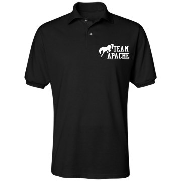 Horse Team Polo Unisex Jerzees Spotshield Polo Shirt