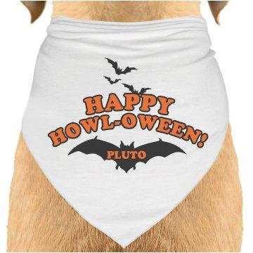 Howl-oween Dog Bandana