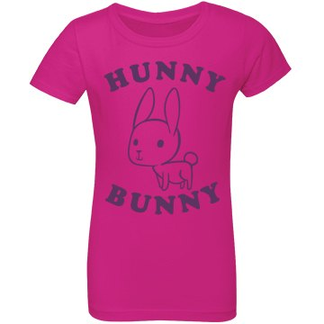 Hunny Bunny Easter Tee For Kids