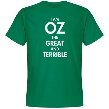 I Am Oz (With Back Print) Unisex Anvil Lightweight Fashi