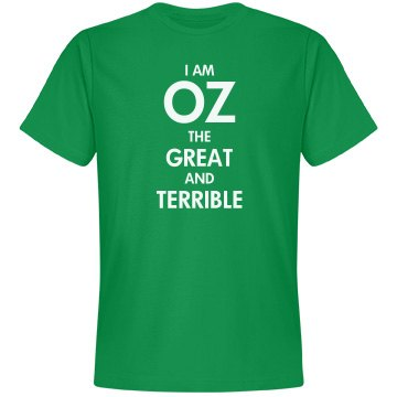 I Am Oz (With Back Print)