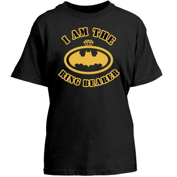 I Am The Ring Bearer Youth Gildan Heavy Cotton Crew Neck Tee