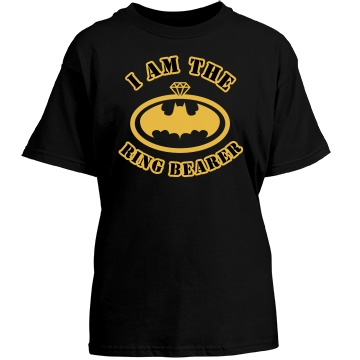 I Am The Ring Bearer Youth Port & Company Essential Tee