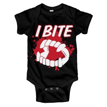 I Bite Onesie