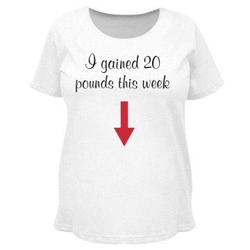 I Gained 20lbs This Week