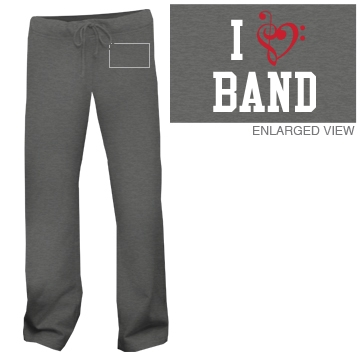 I Heart Band Sweatpants