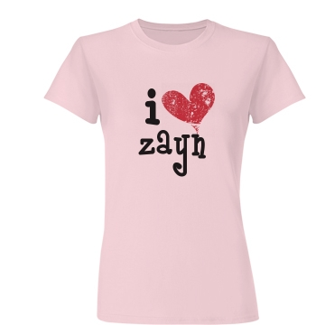 I Heart... Junior Fit Basic Bella Favorite Tee