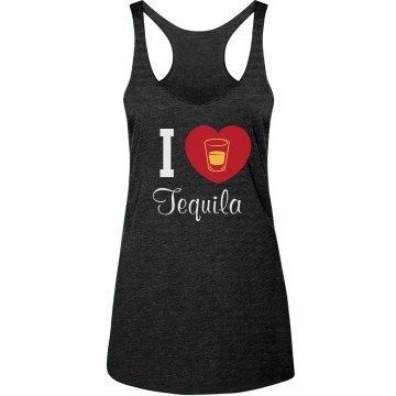 I Heart Tequlia Tank