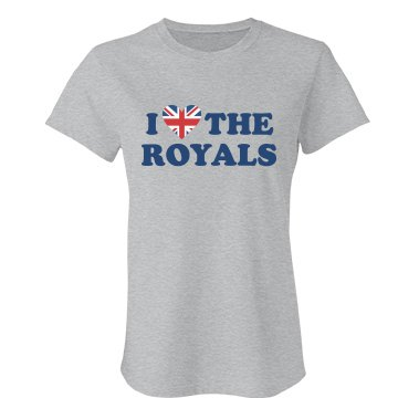 I Heart The Royals Junior Fit Bella Favorite Tee