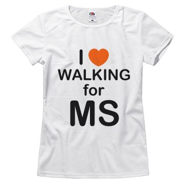 I Heart Walking For MS