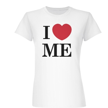 I Love Me Junior Fit Basic Bella Favorite Tee