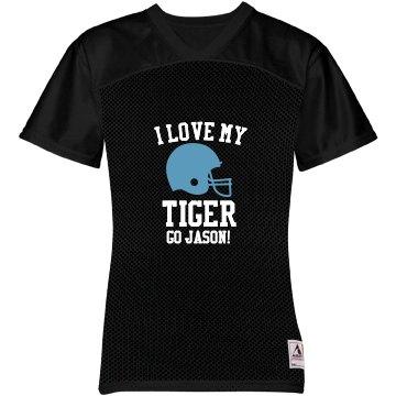 I Love My Tiger Jersey