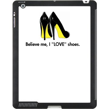 """I """"LOVE""""shoes/Yellow"""